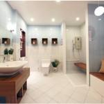 Những mẫu thiết kế phòng tắm đẹp đa phong cách