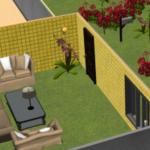 Mẹo phong thủy hóa giải sofa đối diện cửa chính