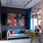 thiết kế căn hộ, căn hộ 30m2, trang trí cho nhà nhỏ, thiết kế thông minh cho nhà chật
